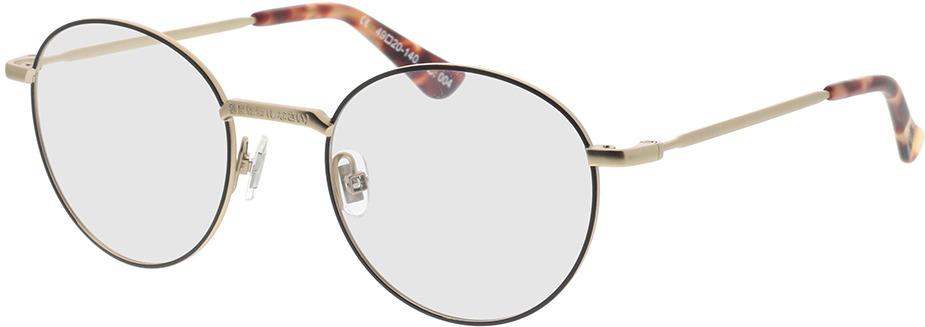 Picture of glasses model Superdry SDO Dakota 004 black 49-20 in angle 330