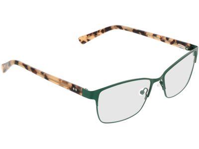 Brille Coslada-grün/braun-meliert