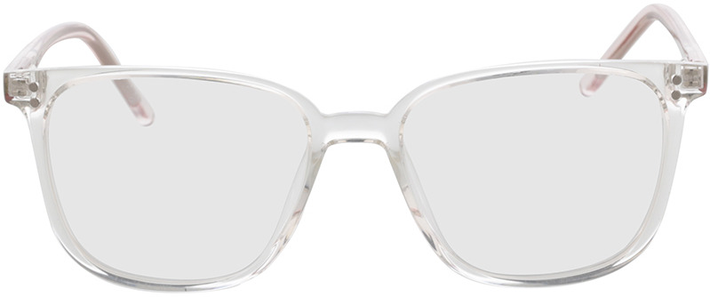 Picture of glasses model Lamesa-transparent/pink-transparent in angle 0