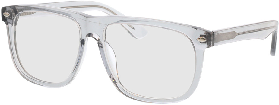 Picture of glasses model Minsk-gris-transparent in angle 330