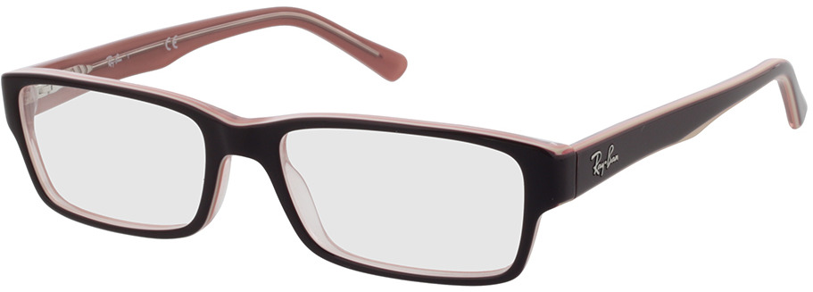 Picture of glasses model Ray-Ban RX5169 8120 52-16 in angle 330