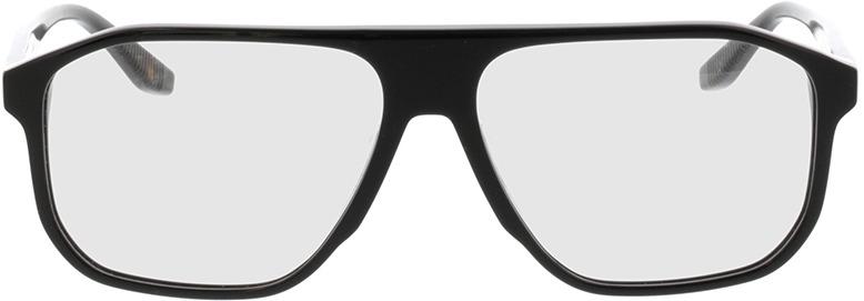 Picture of glasses model Vasco-schwarz in angle 0