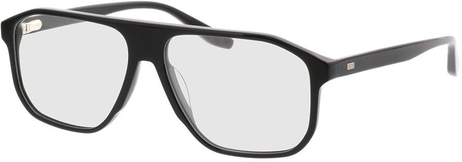 Picture of glasses model Vasco-schwarz in angle 330