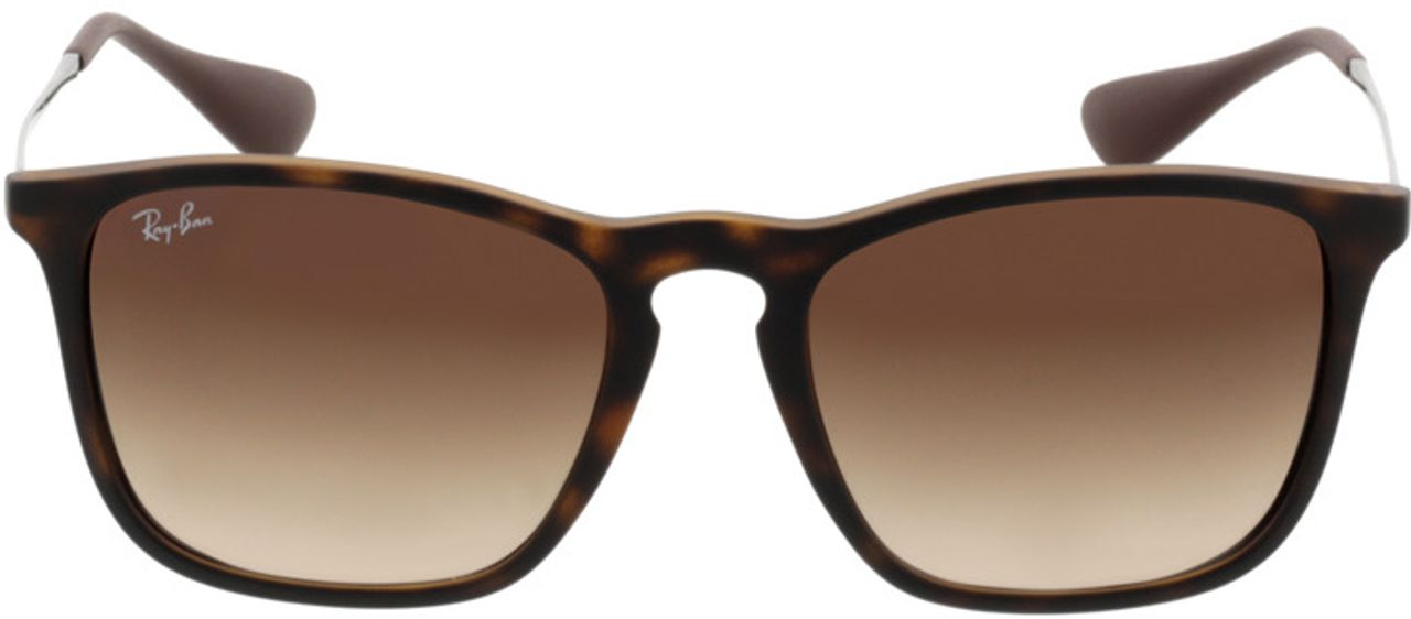 Picture of glasses model Ray-Ban Chris RB 4187 856/13 54-18 in angle 0