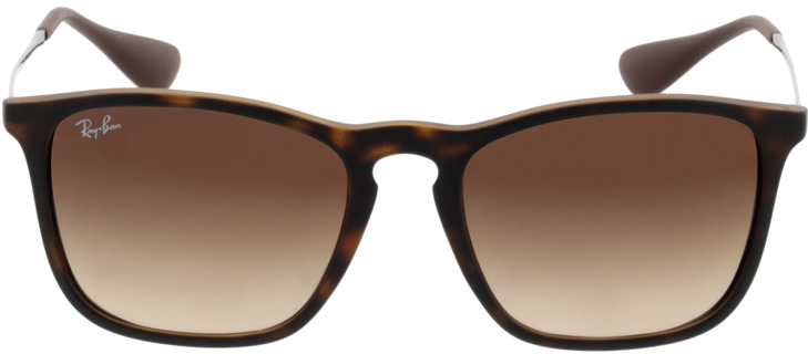 Picture of glasses model Ray-Ban Chris RB4187 856/13 54-18 in angle 0