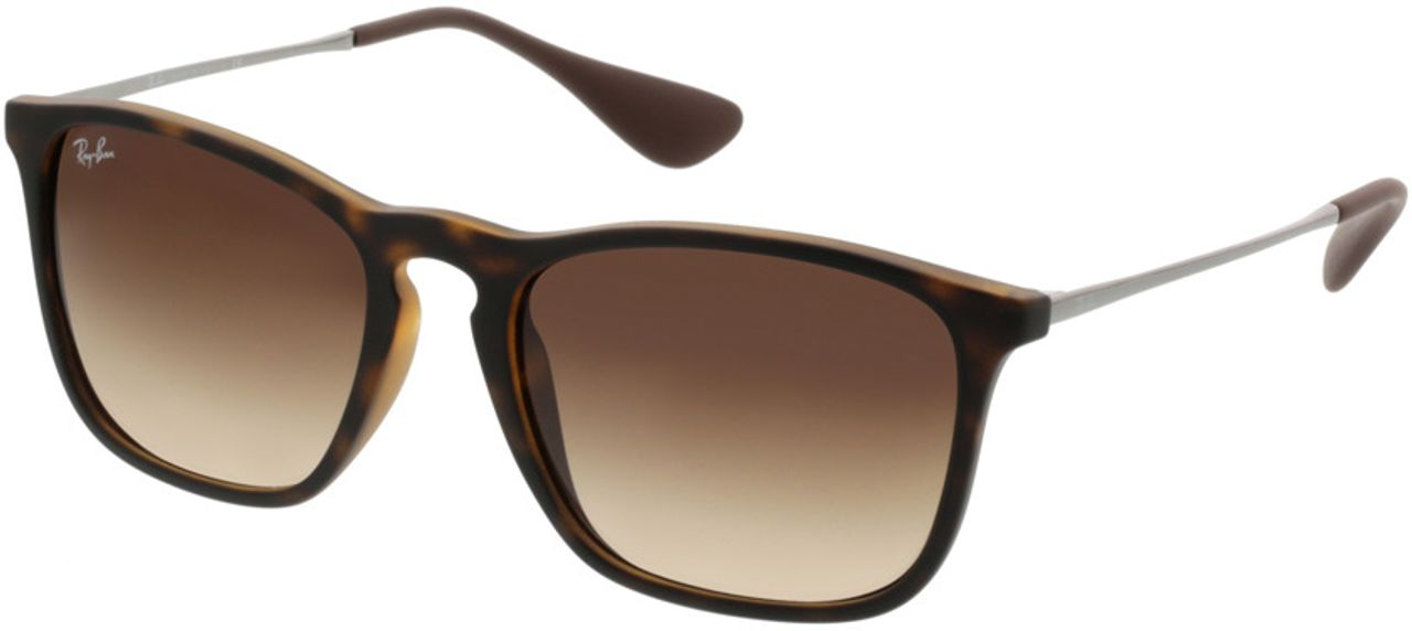 Picture of glasses model Ray-Ban Chris RB 4187 856/13 54-18 in angle 330