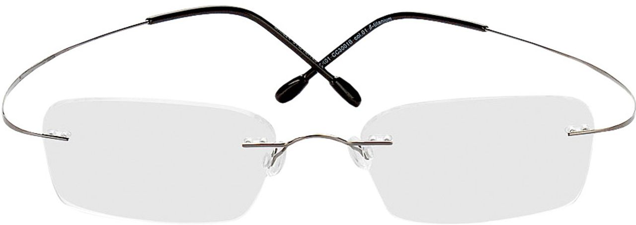 Picture of glasses model Mackay grey in angle 0
