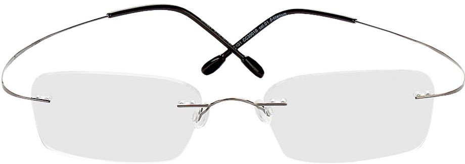Picture of glasses model Mackay-grau in angle 0