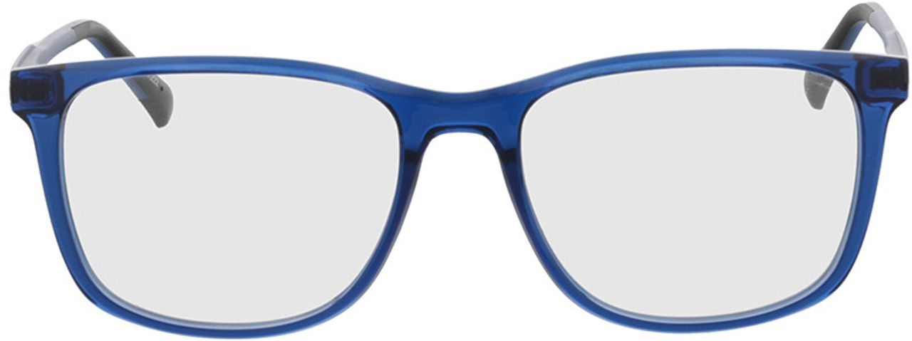Picture of glasses model Graham-blau-transparent/matt blau in angle 0