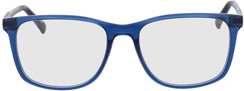 Picture of glasses model Graham blauw transparant/mat blauw in angle 0
