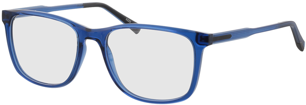 Picture of glasses model Graham blauw transparant/mat blauw in angle 330