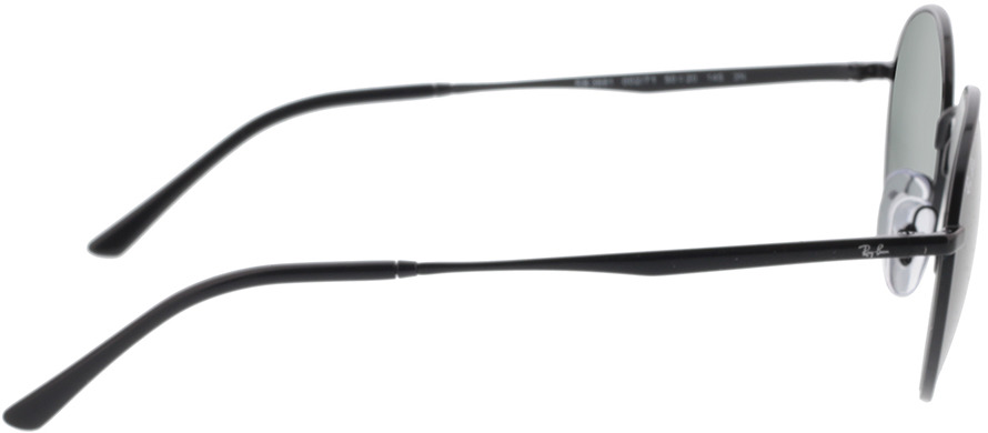 Picture of glasses model Ray-Ban RB3681 002/71 50-20 in angle 90