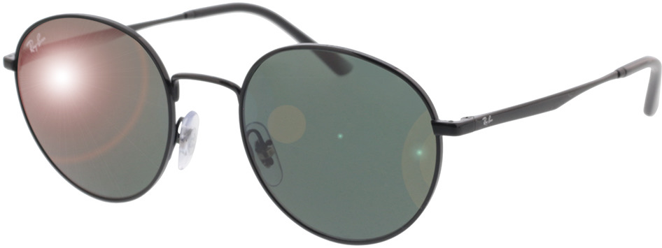 Picture of glasses model Ray-Ban RB3681 002/71 50-20 in angle 330