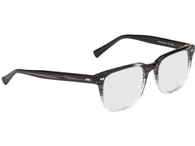 Brille Johannesburg-schwarz/transparent-meliert