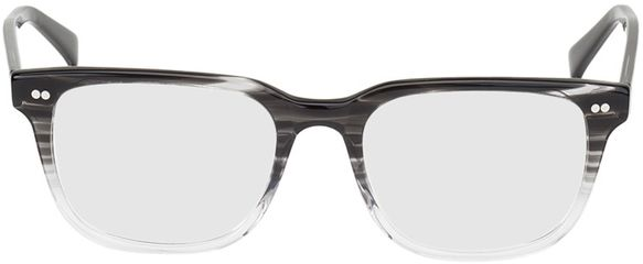 Picture of glasses model Johannesburg-black-transparent in angle 0