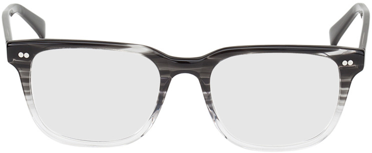 Picture of glasses model Johannesburg preto/transparente in angle 0