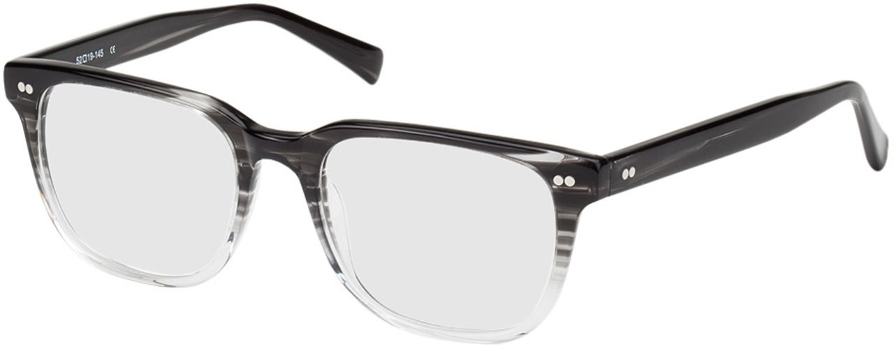Picture of glasses model Johannesburg-black-transparent in angle 330