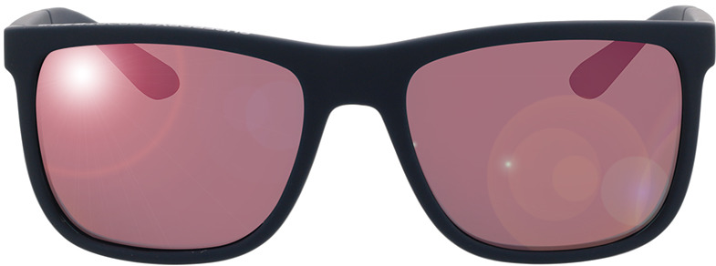 Picture of glasses model Superdry SDS Runnerx 105P rubberised navy/orange 56-19 in angle 0
