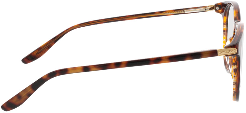 Picture of glasses model Viola-braun-meliert in angle 90