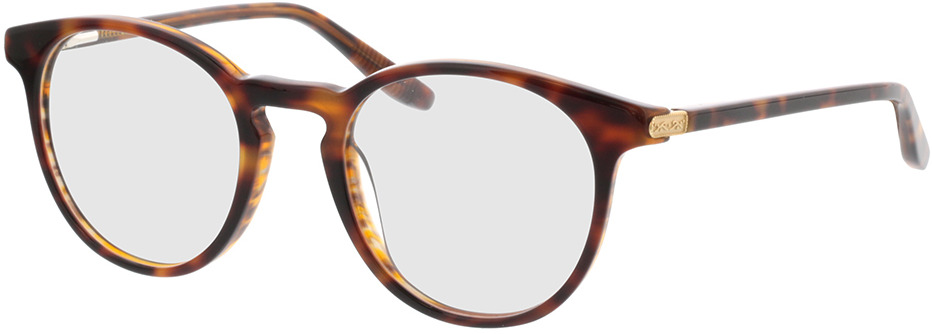 Picture of glasses model Viola-braun-meliert in angle 330
