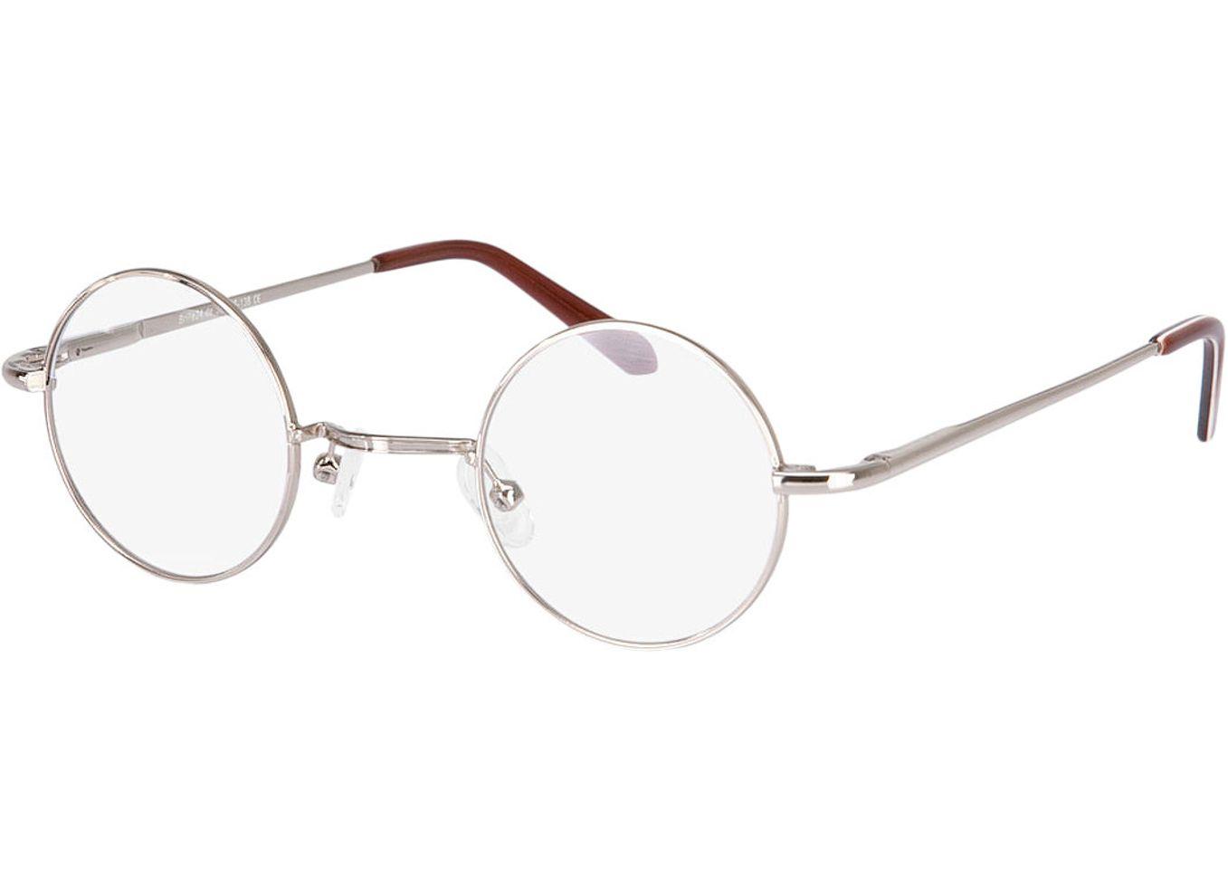 1403-singlevision-0000 Cary-gold Gleitsichtbrille, Vollrand, Rund Brille24 Collection