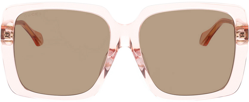 Picture of glasses model Gucci GG0567SA-004 58-16 in angle 0