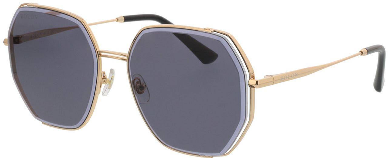 Picture of glasses model Bolon BL7128 C60 58-17 in angle 330