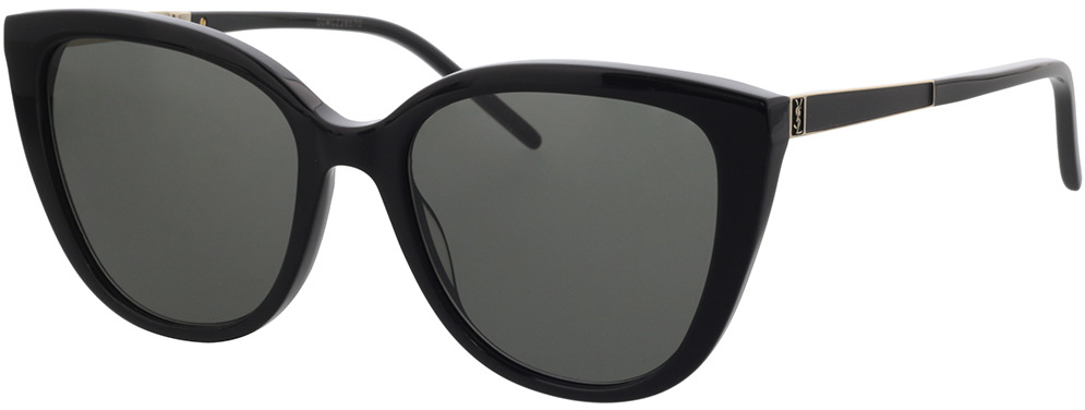 Picture of glasses model Saint Laurent SL M70-002 55-18 in angle 330