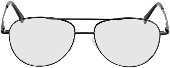 Picture of glasses model Glendale-black in angle 0