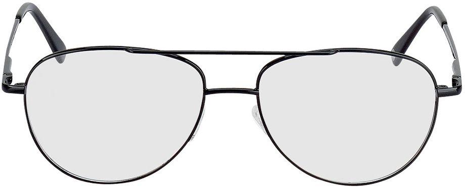 Picture of glasses model Glendale-schwarz in angle 0