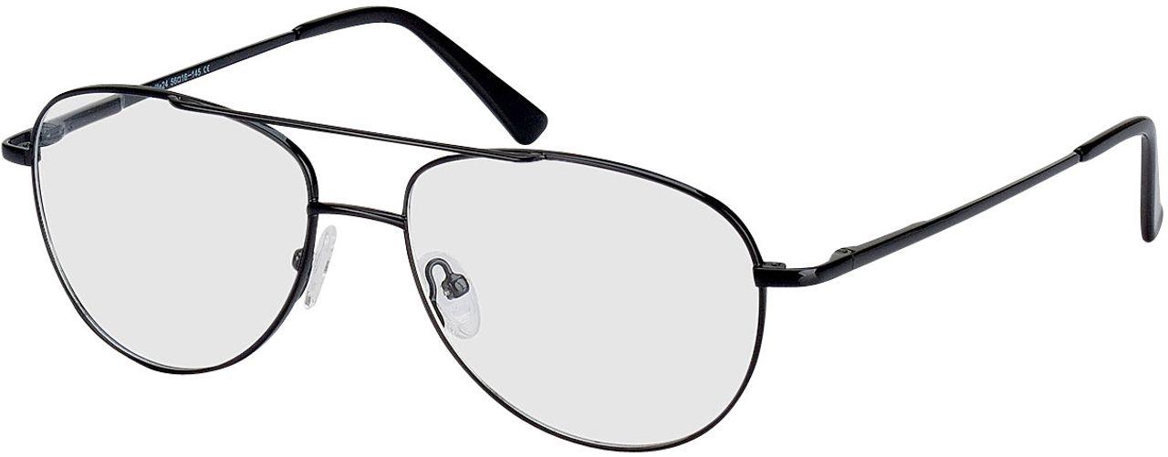 Picture of glasses model Glendale black in angle 330