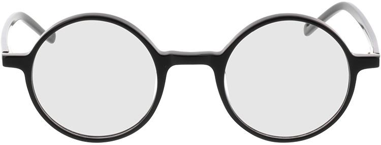 Picture of glasses model Torello-schwarz in angle 0