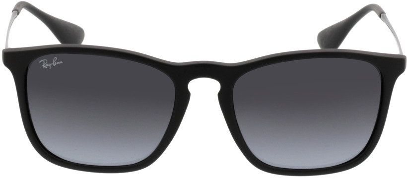 Picture of glasses model Ray-Ban Chris RB4187 622/8G 54-18 in angle 0