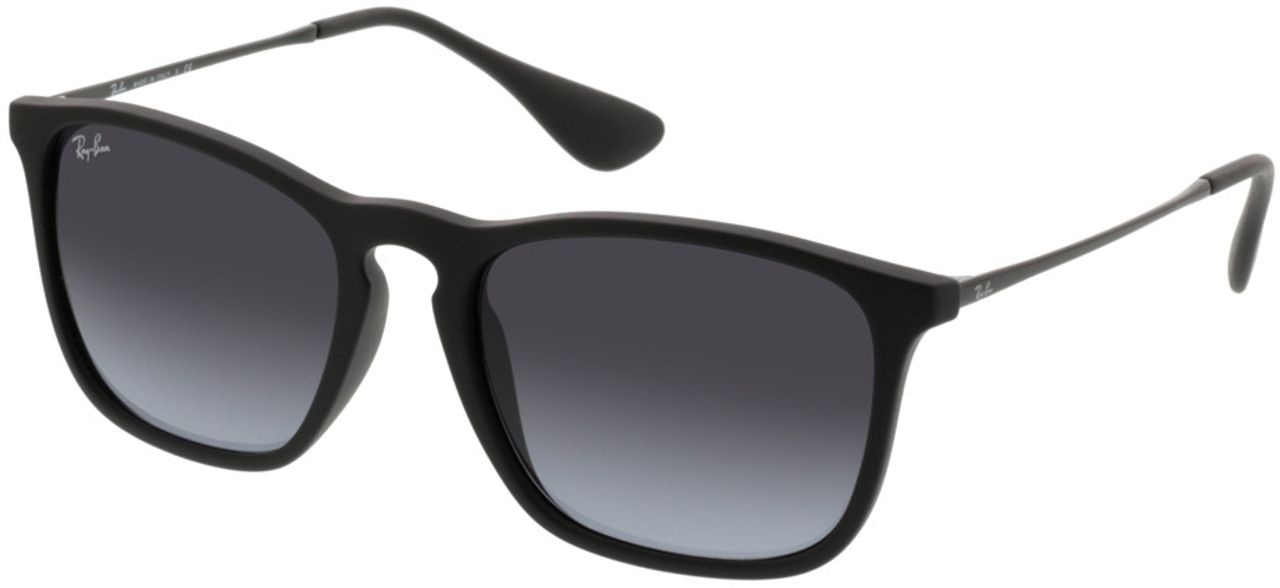 Picture of glasses model Ray-Ban Chris RB 4187 622/8G 54-18 in angle 330