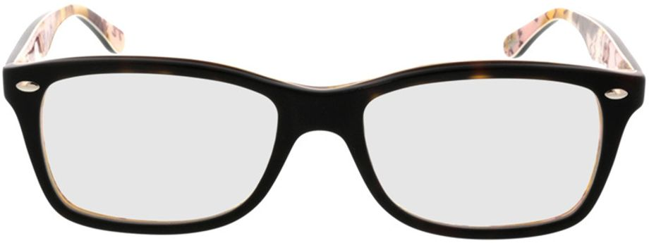 Picture of glasses model Ray-Ban RX5228 5409 53-17 in angle 0