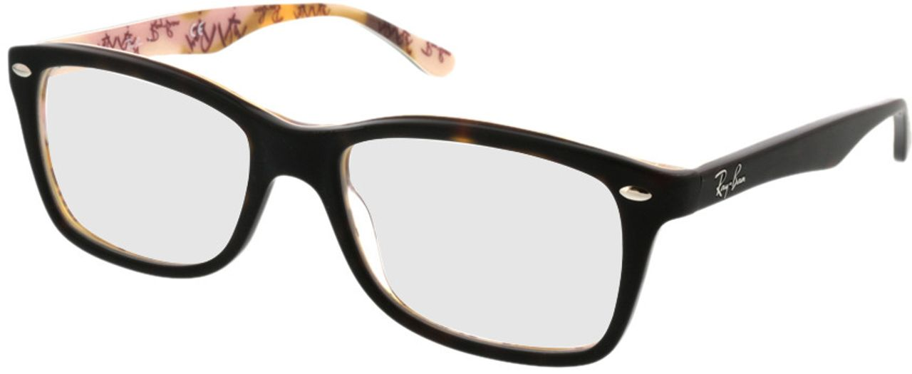 Picture of glasses model Ray-Ban RX5228 5409 53-17 in angle 330