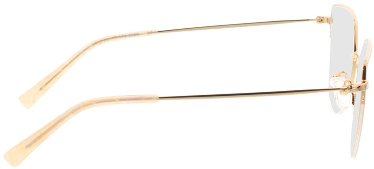 Picture of glasses model Garda-gold in angle 90