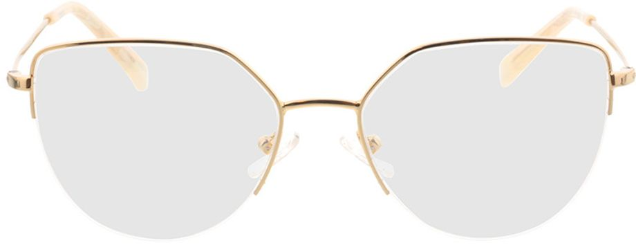 Picture of glasses model Garda-gold in angle 0