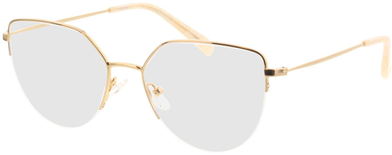 Picture of glasses model Garda-gold in angle 330
