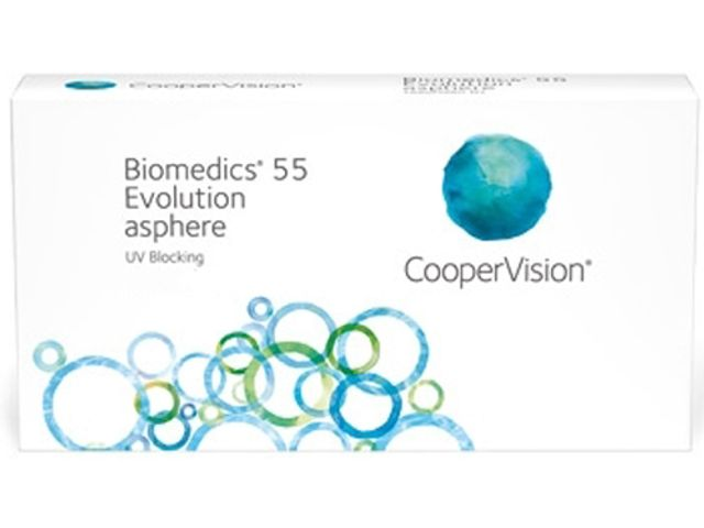 Biomedics 55 Evolution 6er Box