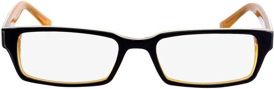 Picture of glasses model Capuno-schwarz/orange in angle 0
