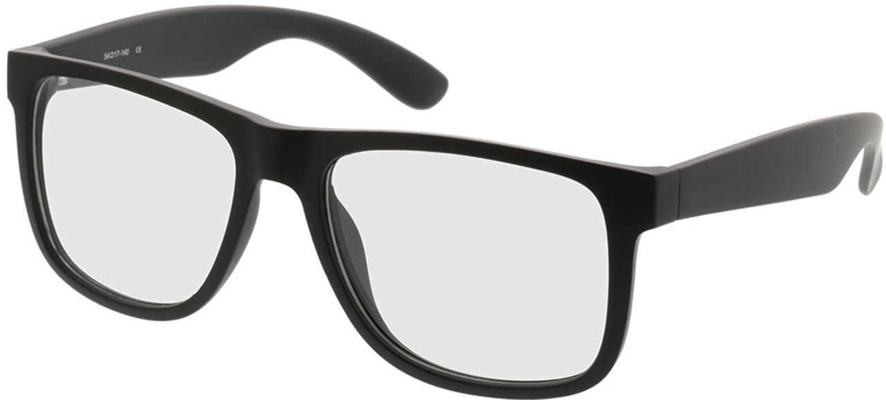 Picture of glasses model New Orleans-black in angle 330