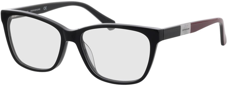 Picture of glasses model Calvin Klein Jeans CKJ21621 001 54-15 in angle 330