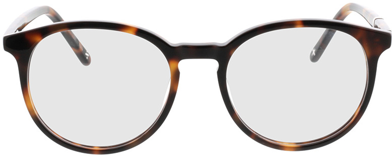 Picture of glasses model Topaz-braun-meliert in angle 0
