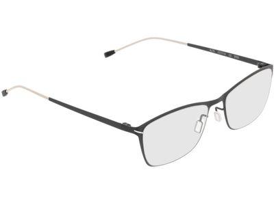 Brille Kairo-schwarz/weiß