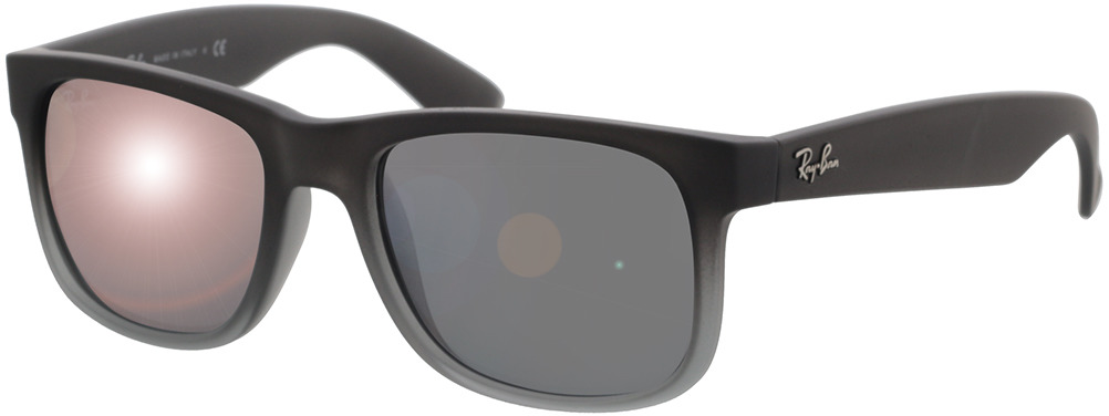 Picture of glasses model Ray-Ban Justin RB4165 852/88 51-16 in angle 330