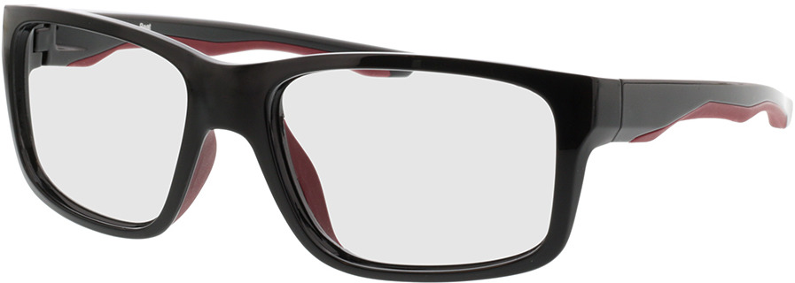 Picture of glasses model Beat-schwarz/rot in angle 330