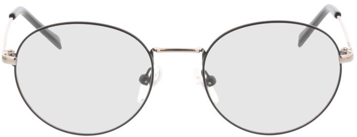 Picture of glasses model Forrest-matt-schwarz in angle 0