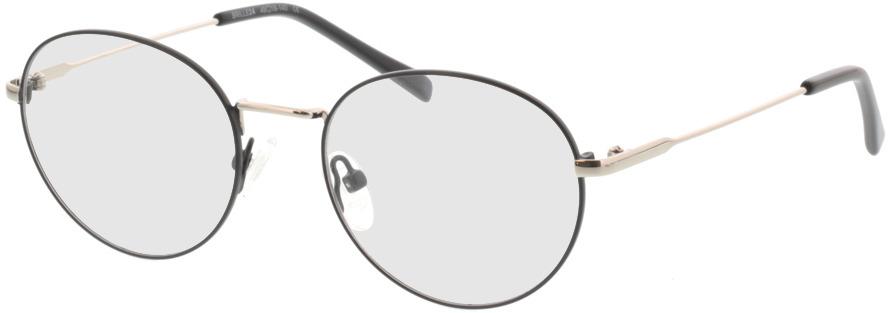 Picture of glasses model Forrest-matt-schwarz in angle 330