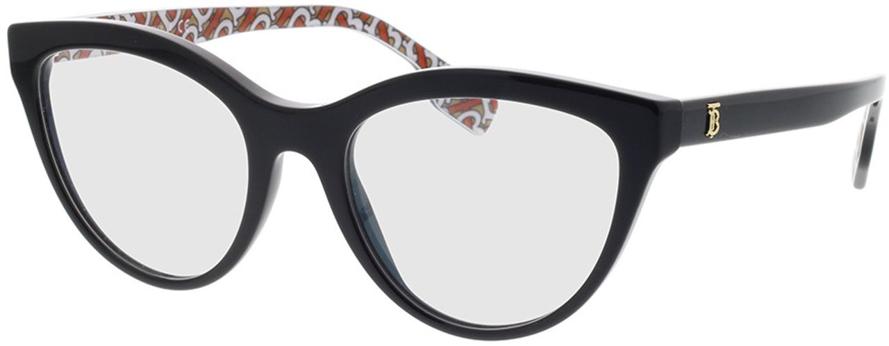 Picture of glasses model Burberry BE2311 3824 53-19 in angle 330